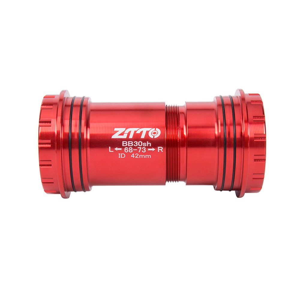 ZTTO BB30sh BB30 24 Adapter Bicycle Press Fit Bottom Brackets Axle For MTB Road Bike Parts Prowheel 24mm Crankset Chainset