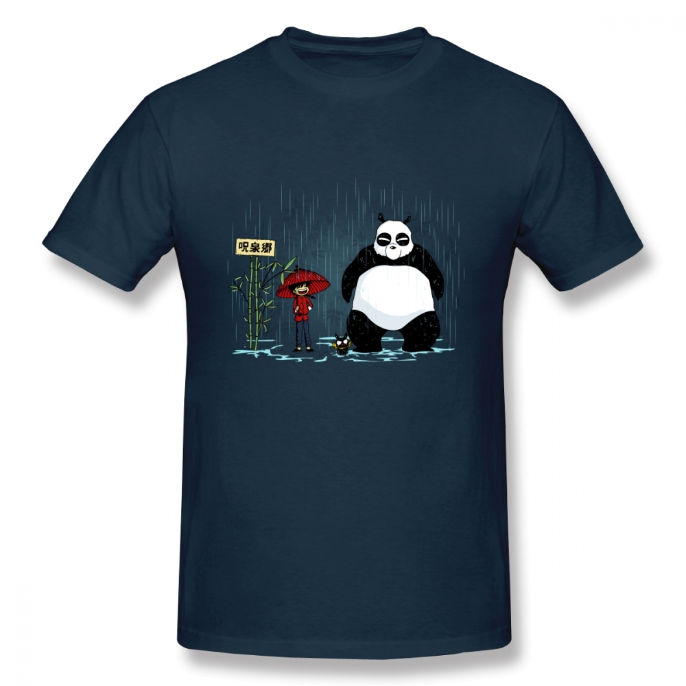Ranma T Shirt Male Harajuku Camiseta Casual Panda T Shirt Plus Size Hot Sale New Arrival 100% Cotton Tees