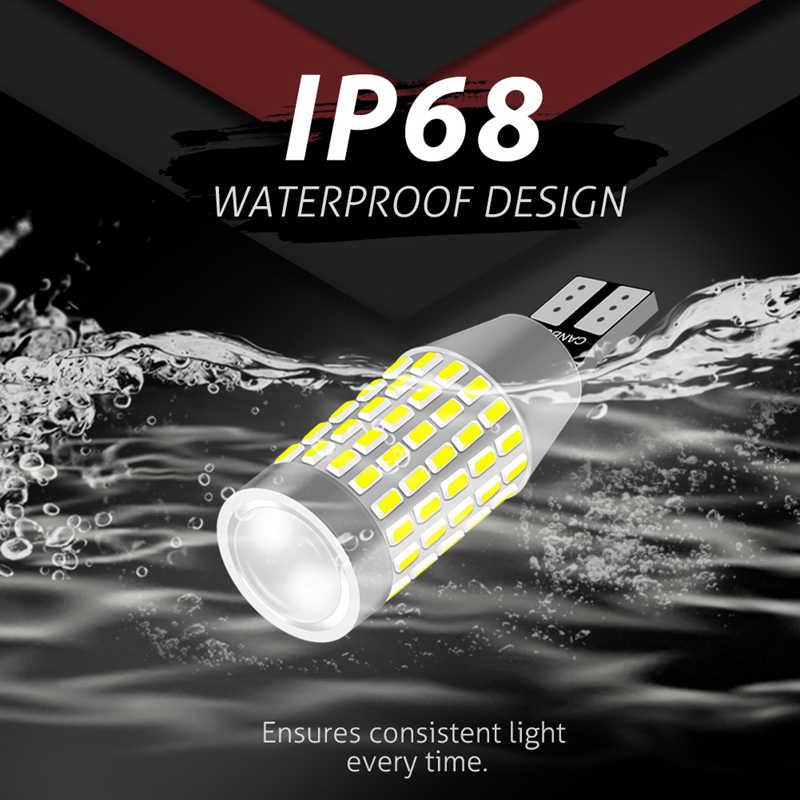 2x W16W T15 LED في Canbus سيارة عكس أضواء ل BMW E46 E60 E90 E91 E92 E36 E39 E87 Z4 F30 F20 F10 X5 E53 E70 912 921 عكس Led