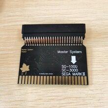 Sms2 sg1000 Sega ماستر نظام إلى Sega مارك الثالث (اليابان الإصدار) SG 1000 محول محول SMS SC 3000