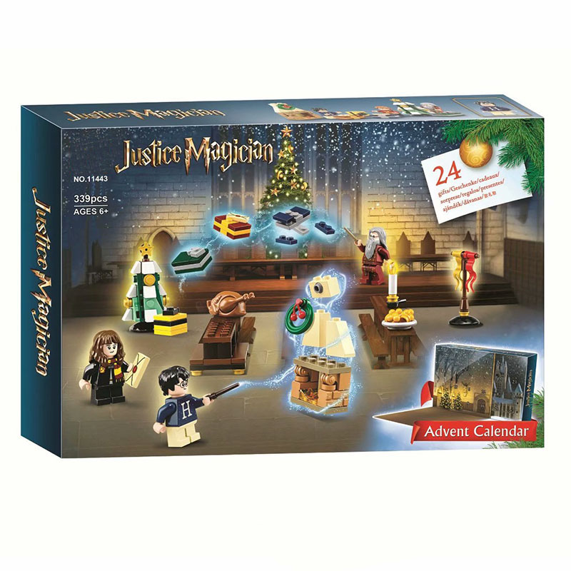 NEW 339Pcs Potter Movie Advent Calendar Building Blocks Bricks Kids Toys Christmas Gifts Compatible With Legoingly Potters 75964