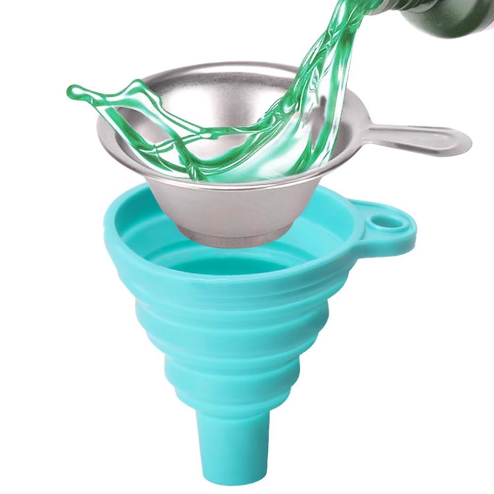 Хорошее качество металла УФ смолы фильтр чашка + силиконовая воронка одноразовые для ANYCUBIC Photon SLA 3D принтер аксессуары