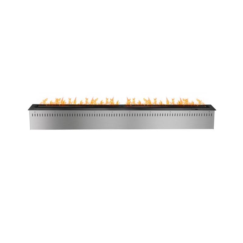 60 Inch Bio Ethanol Burner Insert Freestanding Modern Fireplace