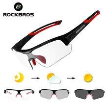 ROCKBROS Radfahren Photochromen Sonnenbrille Brillen UV400 MTB Road Fahrrad Myopie Brille Für Frauen Männer Outdoor Sport Bike Gläser