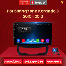 Junsun V1 Android 10,0 DSP CarPlay Auto Radio Multimedia Video Player Auto Stereo GPS Für SsangYong Korando 2010-2013 2 din dvd