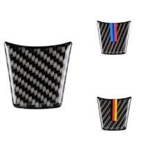 Car Styling Auto Steering Wheel Sticker Accessories Case For Bmw M Sport Emblem Z4 E89 Series 2009-2015 Vehicle Carbon Fiber цена 2017