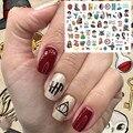 TSC-225 HP серии magico стикеры 3d на ногти nail art Наклейки Шаблон ногти