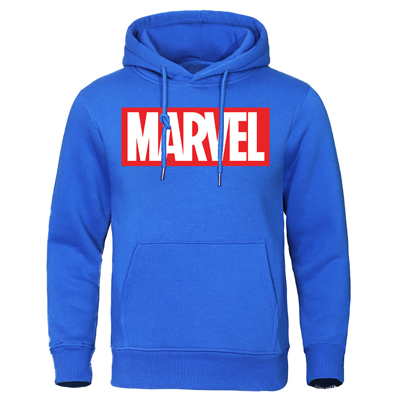 Men's Hoodie 2019 Autumn New Fashion MARVEL Letter Print Male Hoodies Sweatshirts Cotton Casual Tops Streetwear Brand Pullovers
