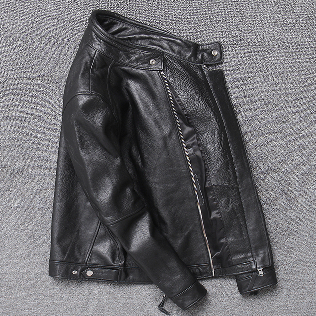 Genuine Leather,Real Cowhide Men's Jackets