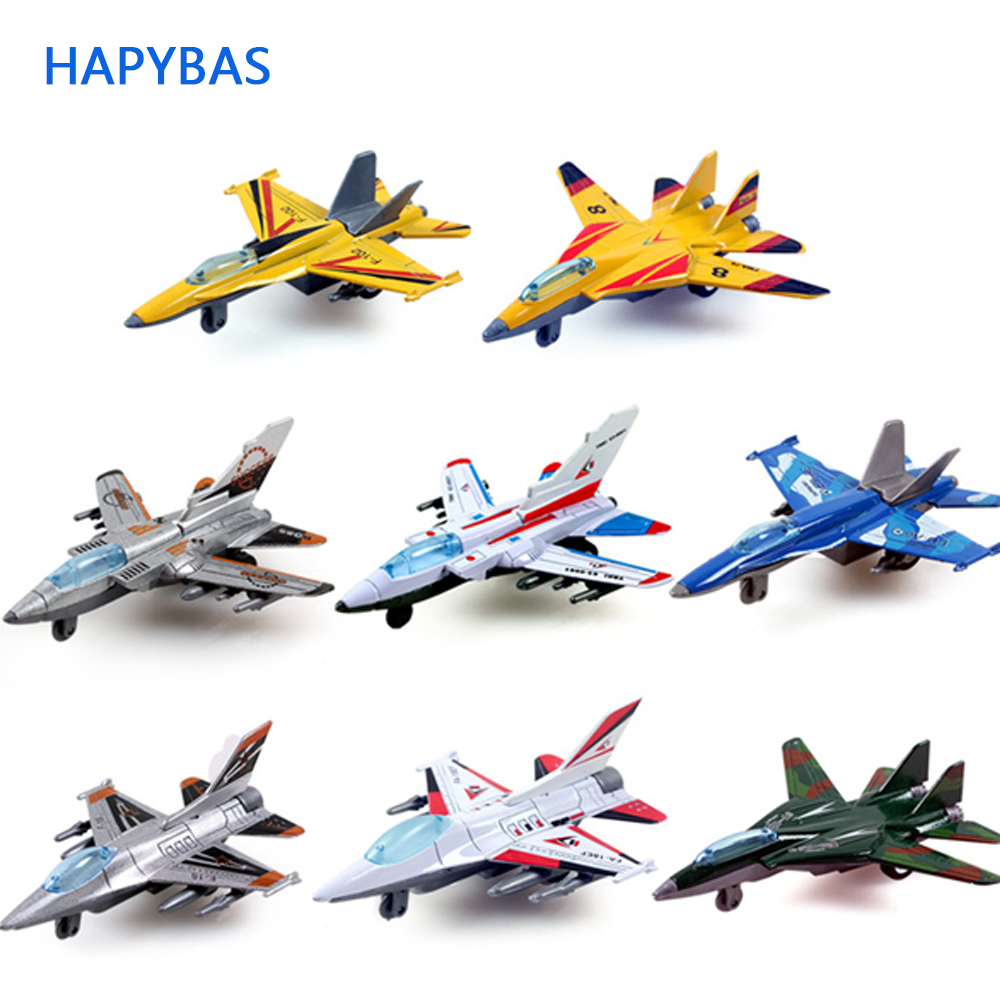 New Arrival 1:64 Scale Alloy Model Fighter,Pull Back Airplant,Aviation Military Model,Aircraft Toys, Children's Gifts