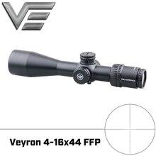 וקטור אופטיקה Veyron 4 16x44 FFP אולטרה קומפקטי Riflescope רובה היקף 1/10MIL התאמת לairgun ירי fit עבור 4.5 5.5