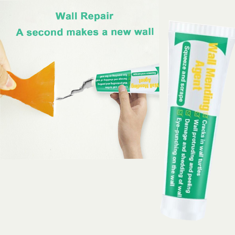 100ml Wall Mending Agent Wall Repair Cream Wall Crack Nail Repair Valid Mould Proof Quick-drying Patch Restore #A