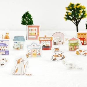 Image 3 - 20set/lot Kawaii Stationery Stickers Picture book life Decorative Mobile Stickers Scrapbooking DIY Japanese Craft Stickers