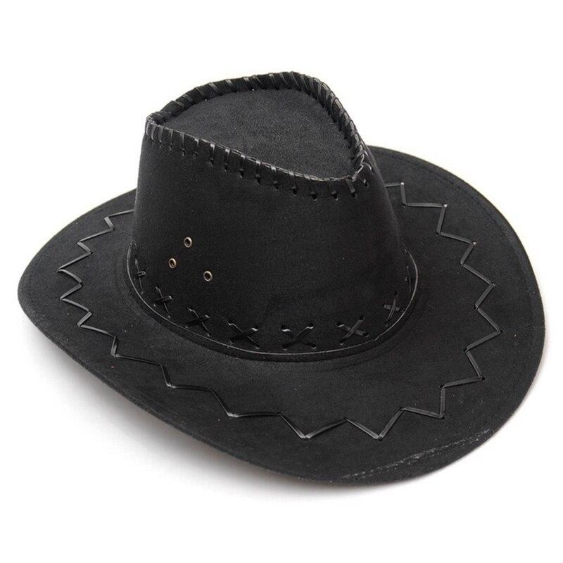 Fashion Western Cowboy Hat Large Brimmed Hat for Men or Female Western Hat cowboy cap