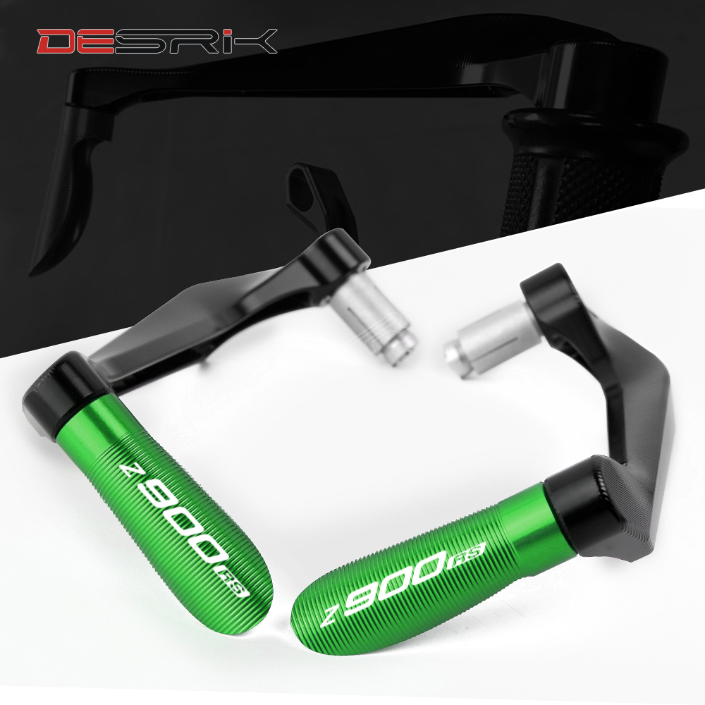 For <font><b>KAWASAKI</b></font> <font><b>Z900RS</b></font> Universal Motorcycle <font><b>Accessories</b></font> Handlebar Grips Guard Brake Clutch Guard Levers Protector 9 Colors image