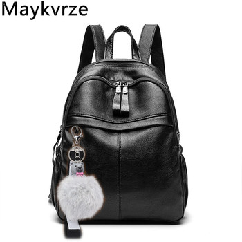 High quality women bag Leather casual backpacks female shoulder bags Fashion Handbags woman messenger bags ladies Crossbody bags