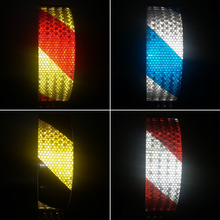 5cmx10m Car Reflective Material Tape Sticker Automobile Motorcycles Safety Warning Tape Reflective Film Car Stickers 3m reflective tape reflective cloth sewing clothing textiles bath diy safety reflective material one pc 1 meter