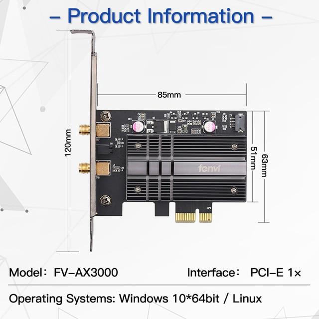 Dual band 2974Mbps Wifi6 Intel AX200 PCIe Wireless Wifi Adapter 2.4G/5Ghz 802.11ac/ax Bluetooth 5.0 AX200NGW Card Desktop PC