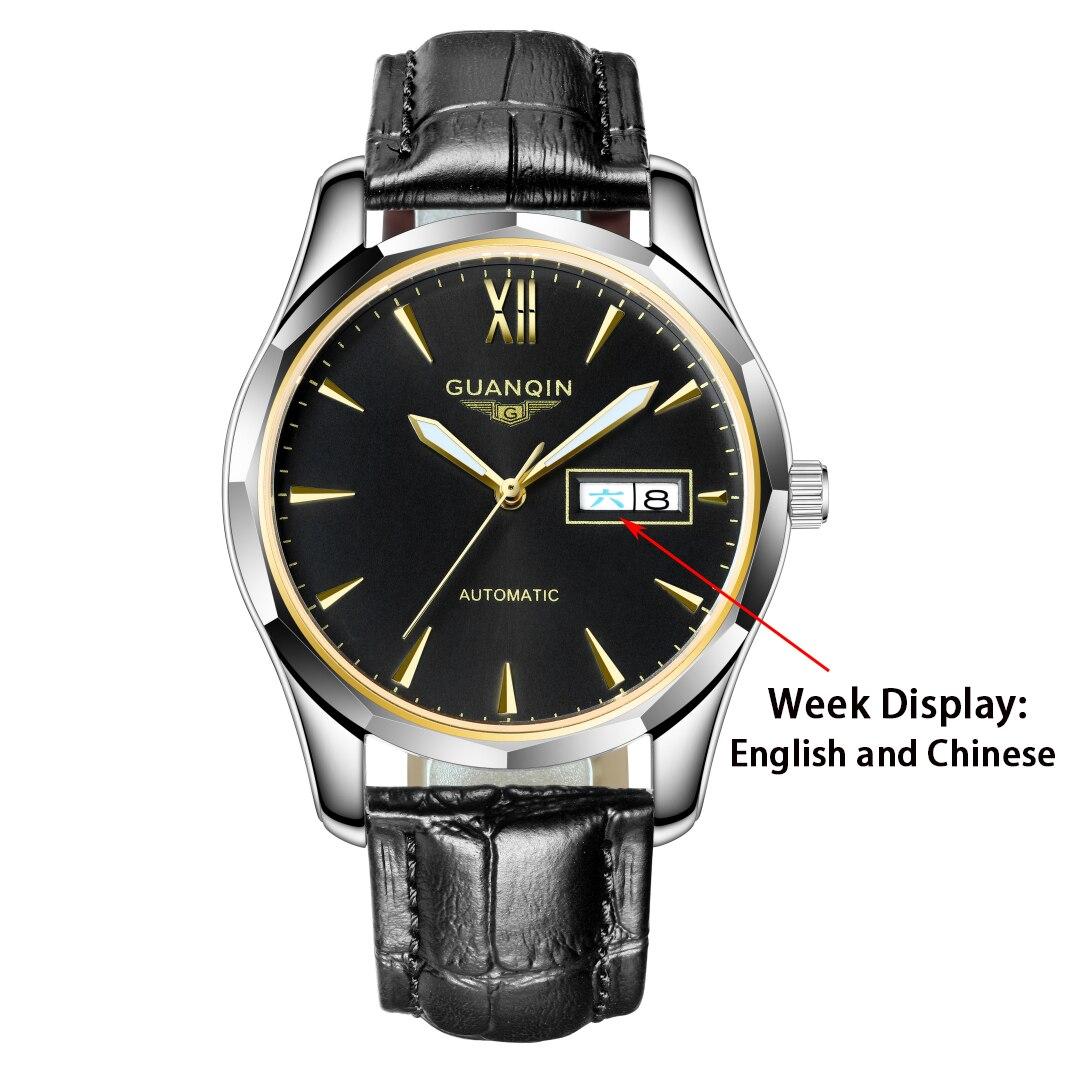 automático dos homens relógios de topo marca