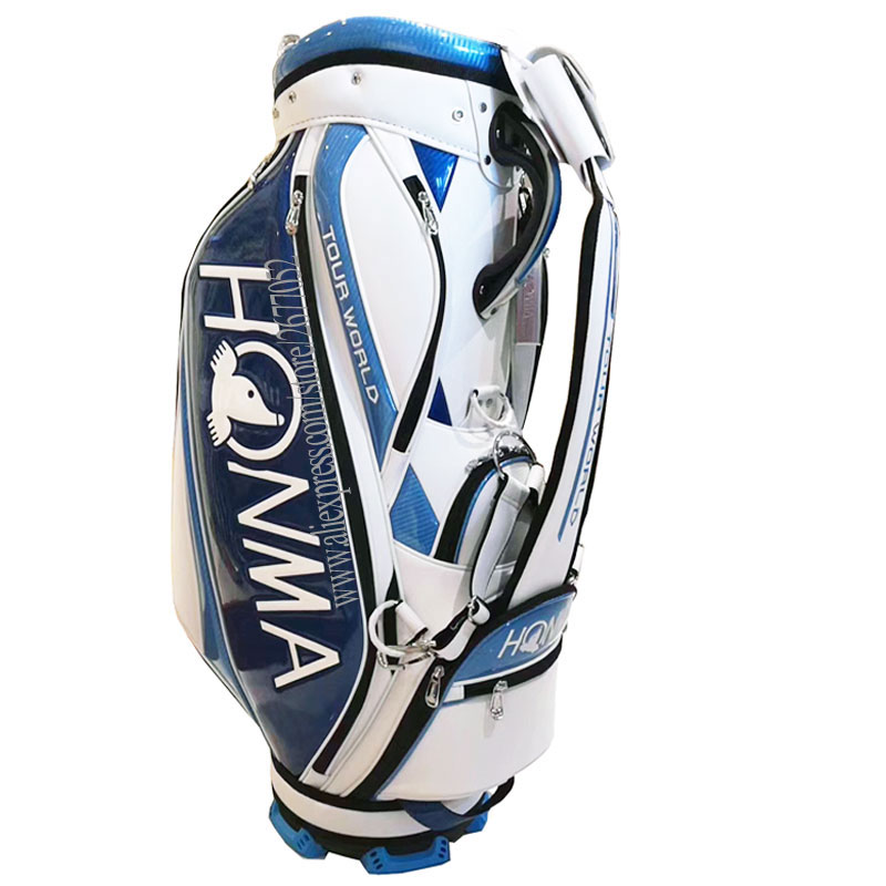 New Golf Bag High Quality PU Clubs Bag 9.inch HONMA Golf Cart Bag Standard Ball Package Cooyute  Free Shipping