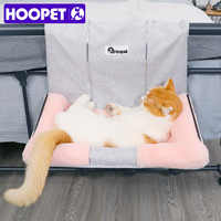 HOOPET Cat Hammock Bed Warm Hanging Bed For Pet Cat House Soft And Comfortable Shelf Seat Beds