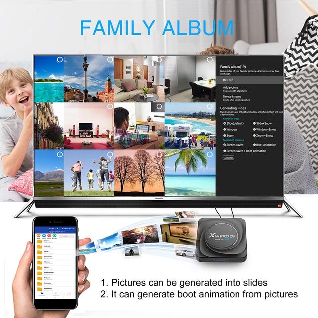 X88 pro 20 ТВ приставка android 11 8 ГБ 128 Гб 8K  4