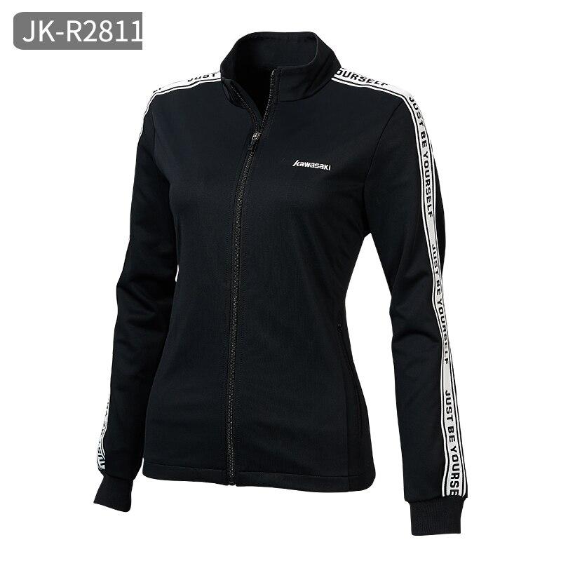Kawasaki, женские куртки для бега, кофта для бега, для девушек, для йоги, спортивная куртка на молнии, пальто, для фитнеса, для спортзала, рубашки, женская одежда - Цвет: JK-R2811