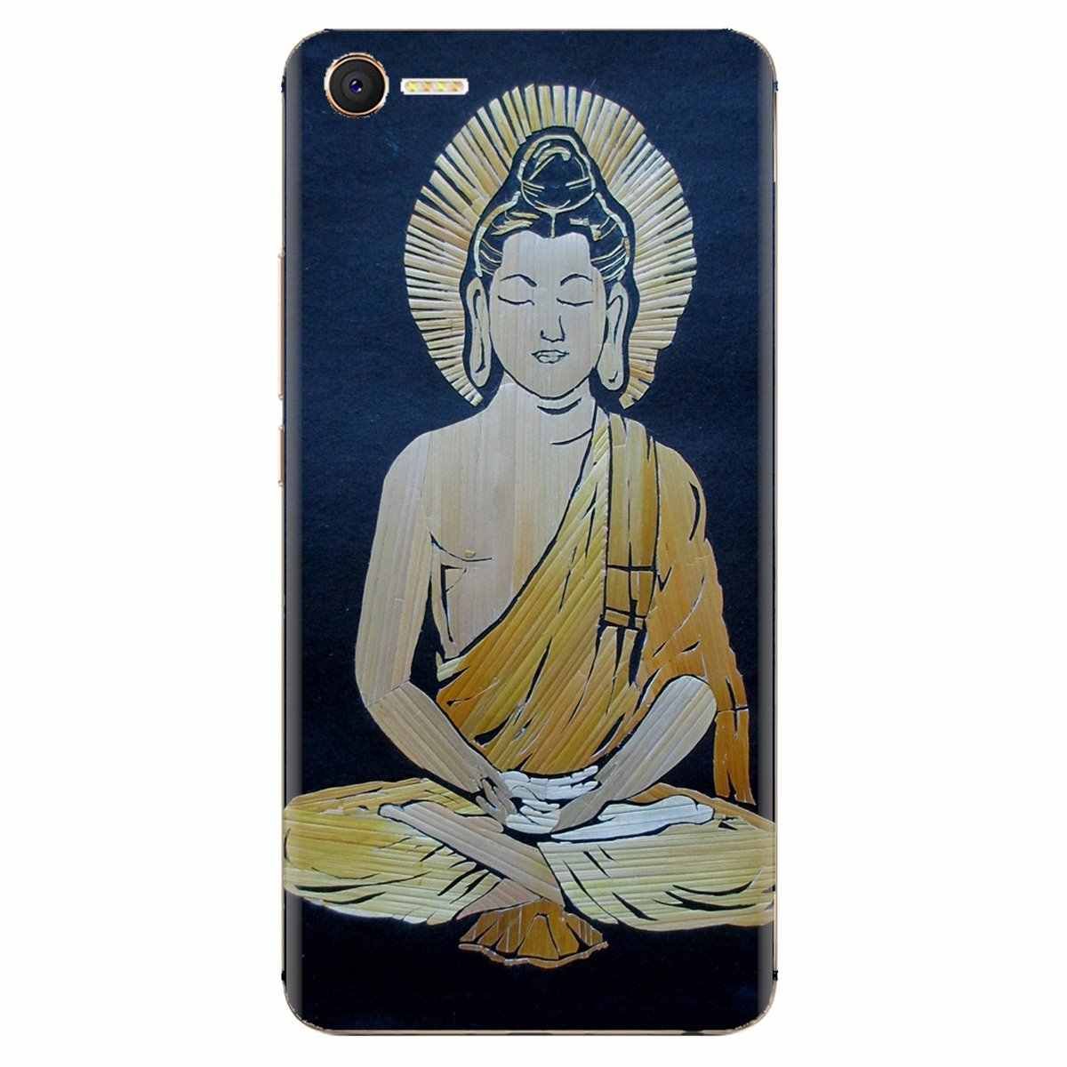 Cubierta del teléfono de silicona bolso para Samsung Galaxy J1 J2 J3 J4 J5 J6 J7 J8 Plus 2018 primer 2015 de 2016 retro 2017 galáctico Gautama Buda.