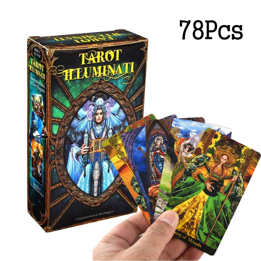 78pcs Cards Tarot Mucha English Vision Tarot Family Holiday Party 40MP04