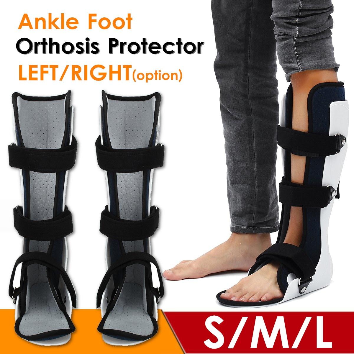 Protetor de tornozelo ajustável suporte cinta de tornozelo esportes tiras de tornozelo suporte esportes pé ajustável orthose estabilizador s/m/lfoot