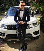 Classic Velvet tuxedos groom wedding men suits mens wedding suits tuxedo costumes de smoking pour hommes men (Jacket+Pants+Tie