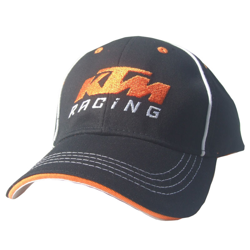 KTM Hat Motorcade Coma Racing Cap Baseball Cap Outdoor Sports Brim Hat Men And Women Off-road Ji Che Mao