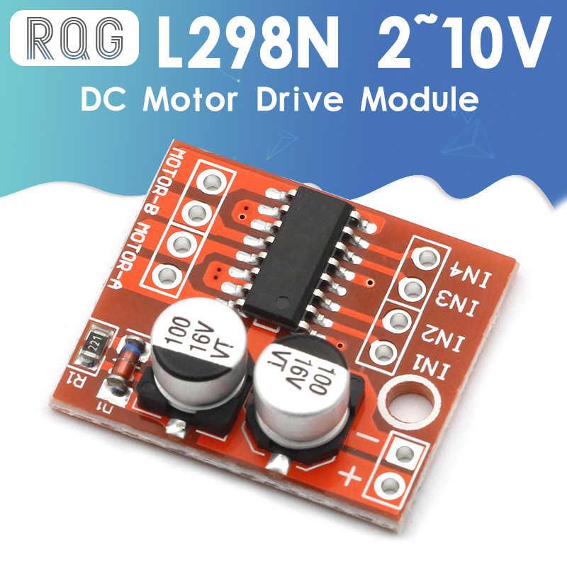 DIYElectronic 1 pc 2 DC Motor Drive Module Reversing PWM Speed ...