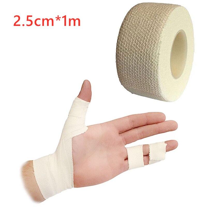 2.5cm*1m 10/5/1 PCS Medical Bandage First Aid Tool Adhesive Bandage Adhesive Stretch Band Wrist Treatment Gauze Emergency Tape