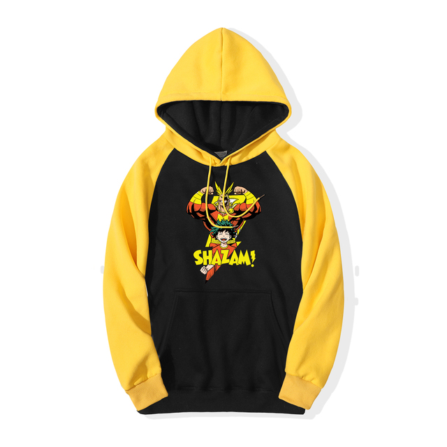 THE ALL MIGHT-Y SHAZAM HOODIE (4 VARIAN)