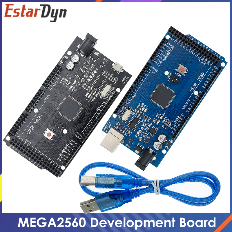 MEGA2560 MEGA 2560 R3 (ATmega2560-16AU CH340G) AVR USB board Development board MEGA2560 for arduino