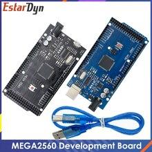 MEGA2560 MEGA 2560 R3 (ATmega2560-16AU CH340G) AVR carte de développement de carte USB MEGA2560 pour arduino