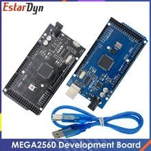 USB-плата MEGA2560 MEGA 2560 R3 (ATmega2560-16AU CH340G) AVR, макетная плата MEGA2560 для arduino