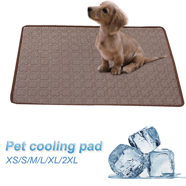 Pet Cooling Mats For Dogs Summer Dog Bed For Small/Medium/Large Dogs/Cats