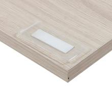 Clear Plastic Shelf Label Holder Wood Shelf Sign Ticket Holder Adhesive Mounting Shelves Data Strip Vinyl Pocket