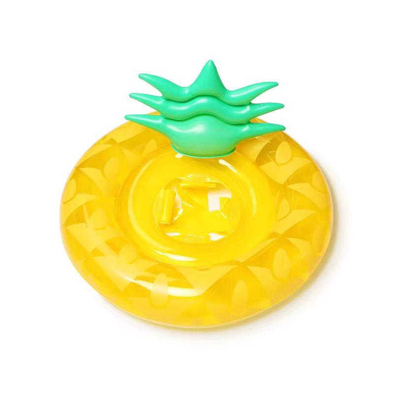 Baby Inflatable Pineapple Fruit Swimming Ring Float Party Pool Water Toys Life Buoy Circle 0-4 years Kids Gifts