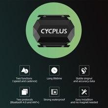 Cycplus bicicleta computador velocímetro formiga + velocidade cadência sensor sem fio bluetooth 4.0 ciclismo para garmin igpsport bryton