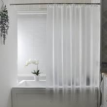 UFRIDAY – rideau de douche givré PEVA nordique, rideau de salle de bain Semi-Transparent, en plastique moderne, épais et imperméable