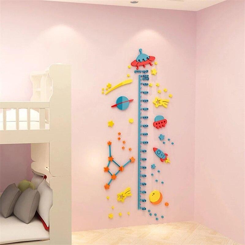 3d наклейки на стену мультяшное украшение для детской комнаты