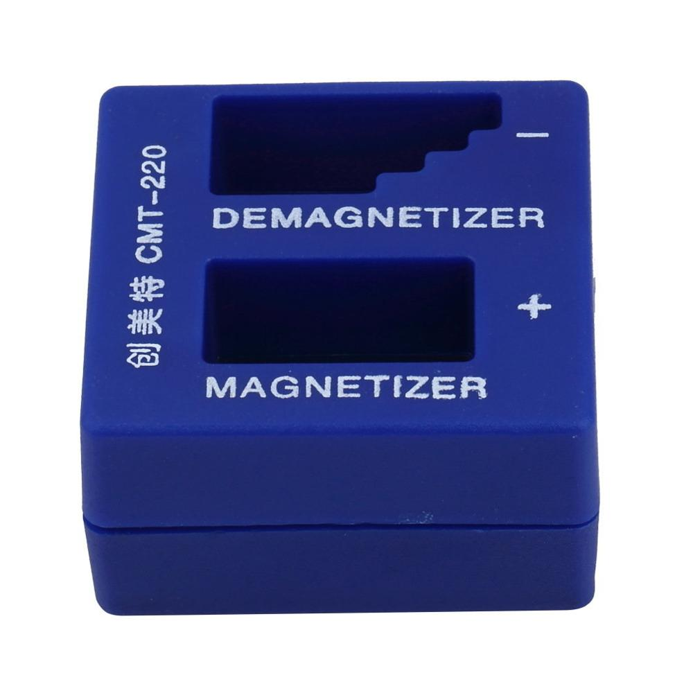 2 In 1 Magnetizer Demagnetizer For Electric/Manual Screwdriver Tips Magnetic Tool Portable Screwdriver Magnetic Pick Up Tool