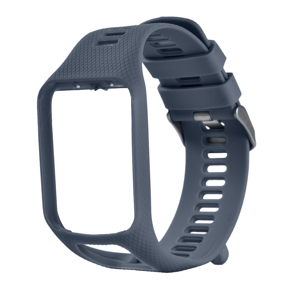 For Tom Runner 2/3 Spark/3 Sport GPS Watch TPE Hard PC Holder Waterproof Replacement Silicone Band Strap Watch Accessories