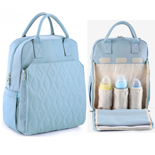 купить 2019 Waterproof Anti Theft Diaper Bag for Mommy Maternity Nappy Backpack Baby Stroller Organizer Nursing Changing Bags to Care по цене 1640 рублей