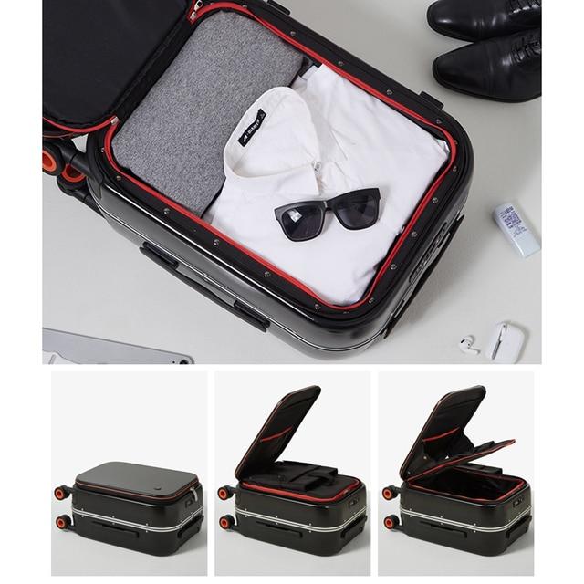 Innovative Design Carry-On Suitcase