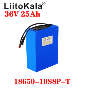 Image 5 - LiitoKala 36V 25ah 18650 10S8P אופניים חשמליים סוללה 36V 25AH 1000W ליתיום סוללה מובנה 20A BMS חשמלי אופני מנוע
