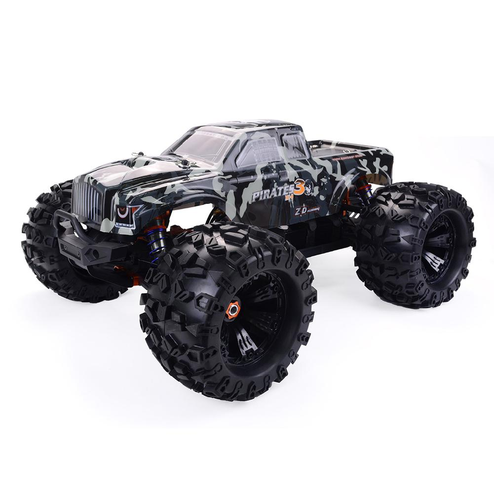 LeadingStar ZD Racing MT8 Pirates3 1/8 2.4G 4WD 90km/h Electric Brushless RC Car Metal Chassis RTR